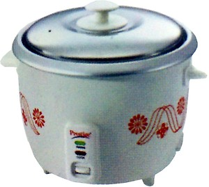 Prestige PRWO 1.8-2 Electric Rice Cooker with Steaming Feature(1.8 L) price in India.