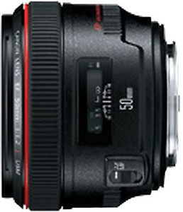 Canon EF 50mm F/1.2L USM Prime Lens for Canon DSLR Camera price in India.