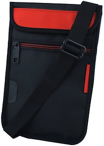 Saco Pouch for Tablet HP Stream 8 Bag Sleeve Sleeve Cover (Red)  (Red, Black) price in India.