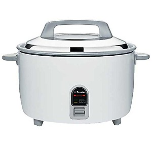 Premier Electric Rice Cooker 4.5WP 4.5Ltr( White) Price In India.