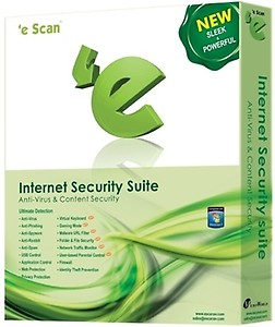eScan Internet Security Suite 3 PC 1 Year  (CD/DVD) price in India.