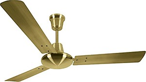 Luminous Enchante Graphica 1200 mm 3 Blade Ceiling Fan  (Black, Silver, Pack of 1) price in India.