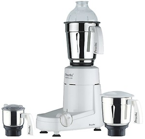 Preethi Popular MG-142 750 W Mixer Grinder  (White, 3 Jars) price in India.