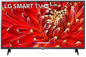 LG 108 cm (43 inches) Full HD Smart LED TV 43LM6360PTB (Dark Iron Gray) (2019 Model) price in India.