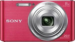 Sony Cyber-shot DSC-W830 20.1 MP Point & Shoot Camera (Black) price in India.