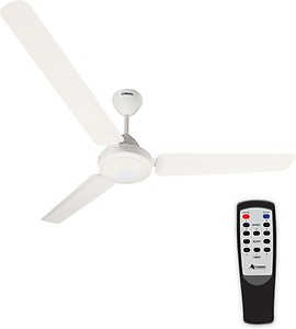 Atomberg E1-1400W 1400 mm BLDC Motor with Remote 3 Blade Ceiling Fan  (White, Pack of 1) price in India.