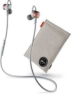 Plantronics BackBeat GO 3 Wireless Headphones with Charge Case (Copper Grey) price in India.