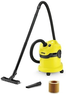 Karcher WD3* EU-I/WD3* EU Wet & Dry Vacuum Cleaner(Black, Yellow) price in India.