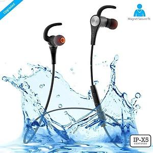 ZAAP Aqua Magneto IP-X5 Wireless 4.1 Bluetooth Waterproof Headphone price in India.