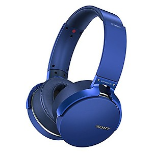 Sony MDR-XB950B1 On-Ear Wireless Extra BASS Headphones (Black) price in India.