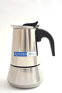 Kitchen Mart KMCP06 6 cups Coffee Maker  (Steel) price in India.