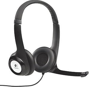 Logitech H390 USB Headset (Black) price in India.