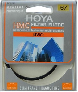 Hoya 67mm Ultraviolet UV(C) Haze Multicoated Filter price in India.