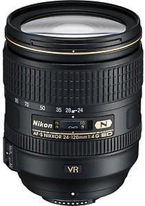 Nikon AF-S Nikkor 24-120mm F/4 G ED VR Zoom Lens for Nikon DSLR Camera price in India.