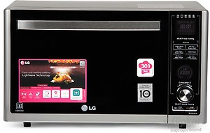 LG 32 L Convection Microwave Oven(MJ3283BCG, Silver) price in India.