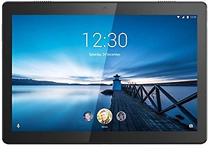 Lenovo Tab M10 Tablet (10.1 inch, 16GB, Wi-Fi + 4G LTE), Slate Black price in India.
