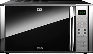 IFB 30 L Convection Microwave Oven (30SC4, Metallic Silver) price in India.