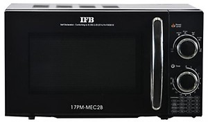 IFB 17 L Solo Microwave Oven(17PM-MEC2B, Black) price in India.