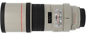 Canon EF 300 mm f/4L IS USM Lens(Black & White) price in India.