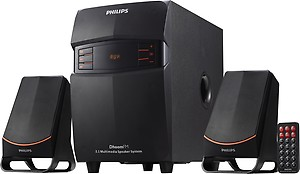 Philips MMS-2550F/94 2.1 Channel Multimedia Speakers System (Black) price in India.