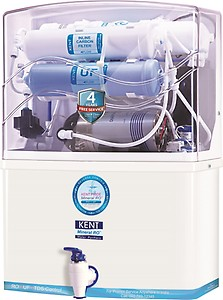 Kent PRIDE(11004) 8 L RO + UF Water Purifier(White & Blue) price in India.