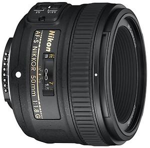 Nikon AF Nikkor 50 mm f/1.8D Lens(Black) price in India.