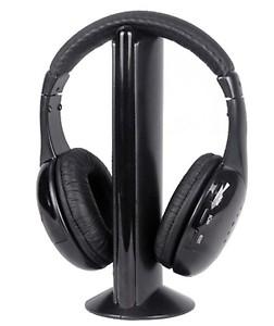 Intex Roaming Wireless Over-Ear Headphones (Black) price in India.