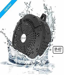 ZAAP (USA) Aqua Waterproof/Shockproof Bluetooth Wireless Speaker with Built-in Microphone (Black) price in India.