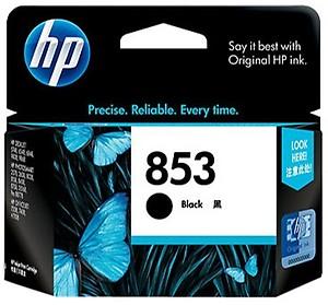 HP 853 Black Inkjet Print Cartridge price in India.