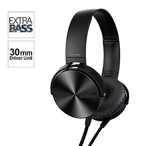 Royaldeals MDR-XB450AP On-Ear Extra Bass(XB) Headphones with Bass-Boost & Vibration (Black) price in India.