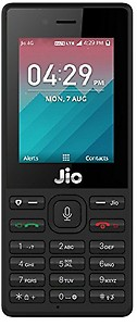 JioPhone (Black)-Security Deposit price in India.