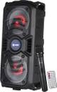 Zoook Rocker Thunder Plus 40 watts Karaoke Bluetooth Party Speaker with Remote & Wireless Mic price in India.