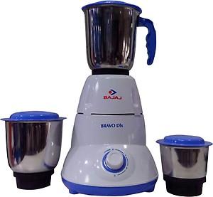 Bajaj Bravo 3 Jar 500-Watt Mixer Grinder price in India.