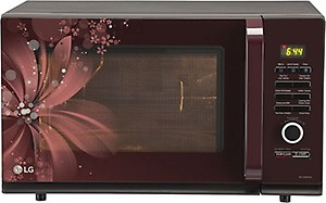 LG 32 L Convection Microwave Oven  (MC3286BRUM, Black) price in India.