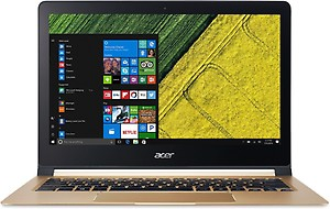 Acer Swift 7 Core i5 7th Gen - (8 GB/256 GB SSD/Windows 10 Home) SF713-51 Thin and Light Laptop  (13.3 inch, Black, 1.13 kg) price in India.