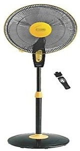 V-Guard Finesta Remote 400mm Pedestal Fan (Yellow Black) price in India.