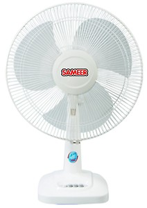 SAMEER 400MM TABLE FAN OSCILLATING price in India.