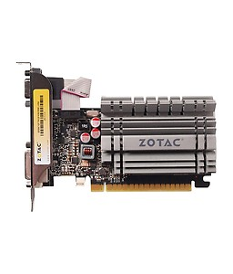 ZOTAC NVIDIA GeForce GT 730 Zone Edition 4 GB DDR3 Graphics Card(Black) price in India.