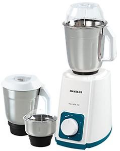 Havells Supermix Haandi 500-Watt Mixer Grinder (Cherry) with 3 Jars price in India.