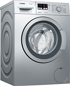 Bosch 7 kg ExpressWash Fully Automatic Front Load with In-built Heater Silver  (WAK24164IN) price in India.