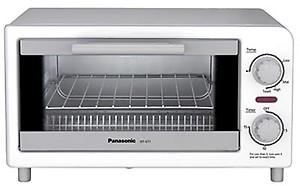 Panasonic NT-GP1 680-Watt 2-Slice Pop-up Toaster price in India.