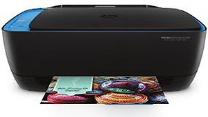 HP DeskJet Ink Advantage Ultra 4729 Multi-function WiFi Color Printer with Voice Activated Printing Google Assistant and Alexa(Black, Ink Cartridge) price in India.