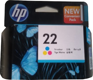 HP 22Tri Color Ink Cartridge price in India.