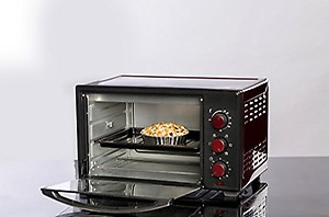 Usha 29-Litre 3629R Oven Toaster Grill (OTG)  (Wine & Matte Black) price in India.