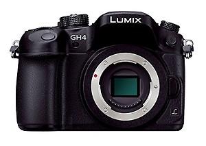 Panasonic DMC-GH4GC-K 16.1MP Digital SLR Camera (Black) Body price in India.