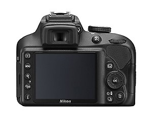 Nikon D3400 Digital Camera Body (Black) with card and DSLR Bag price in India.