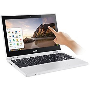 Acer 2017 R11 11.6-inch Convertible 2-in-1 HD IPS Touchscreen Chromebook (Intel Quad-Core Celeron N3160 1.6GHz, 4GB RAM, 32GB SSD, White) price in India.