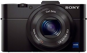 Sony Cybershot DSC-RX100 20.2MP Digital Camera with 3.6X Optical Zoom (Black) price in India.