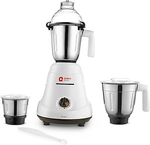 Orient Electric Accord | MGAC75G4 750 W Mixer Grinder(White and Grey, 4 Jars) price in India.