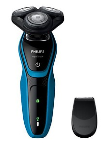 Philips S5050/06 Shaver For Men(Black and Blue) price in India.